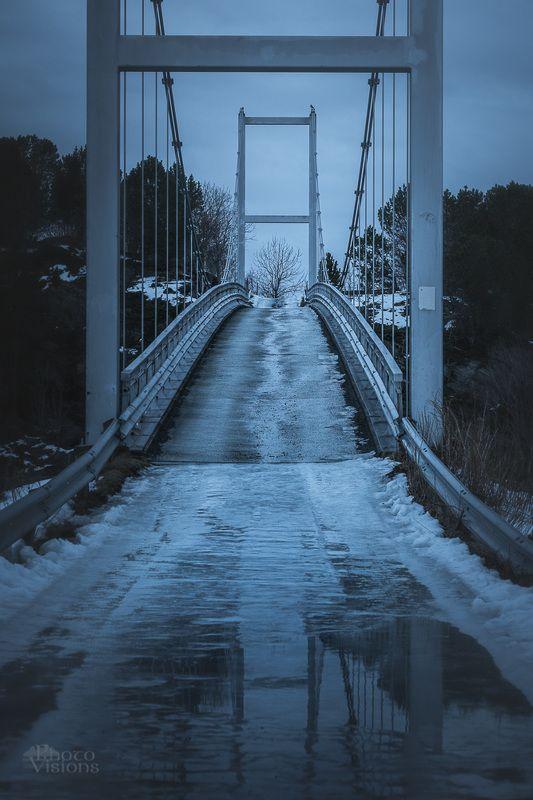 bridge,architecture,norway,symmetry,reflections,path,road, The Bridgephoto preview