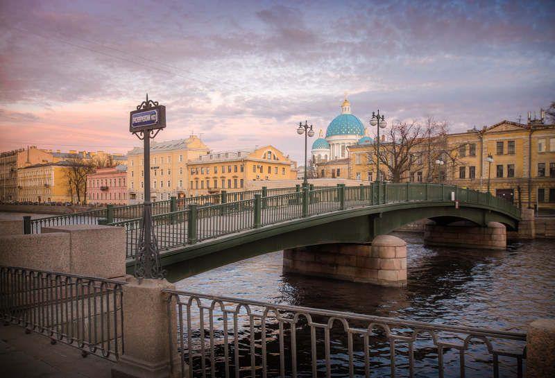 петербург, город, мост, вода, река, рассвет, пейзаж, закат В городе моем...photo preview