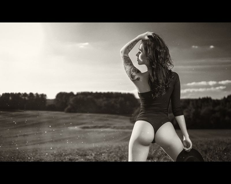 panther girl sexy nude dmitrymedved black white Aleksaphoto preview