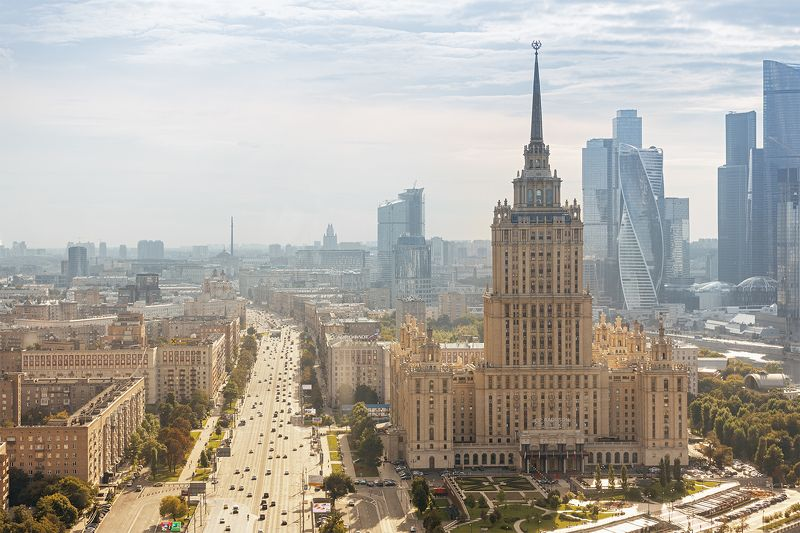 гостиница украина, архитектура, москва Гостиница Украинаphoto preview