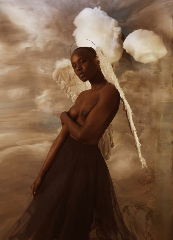 Чёрный ангелphoto preview