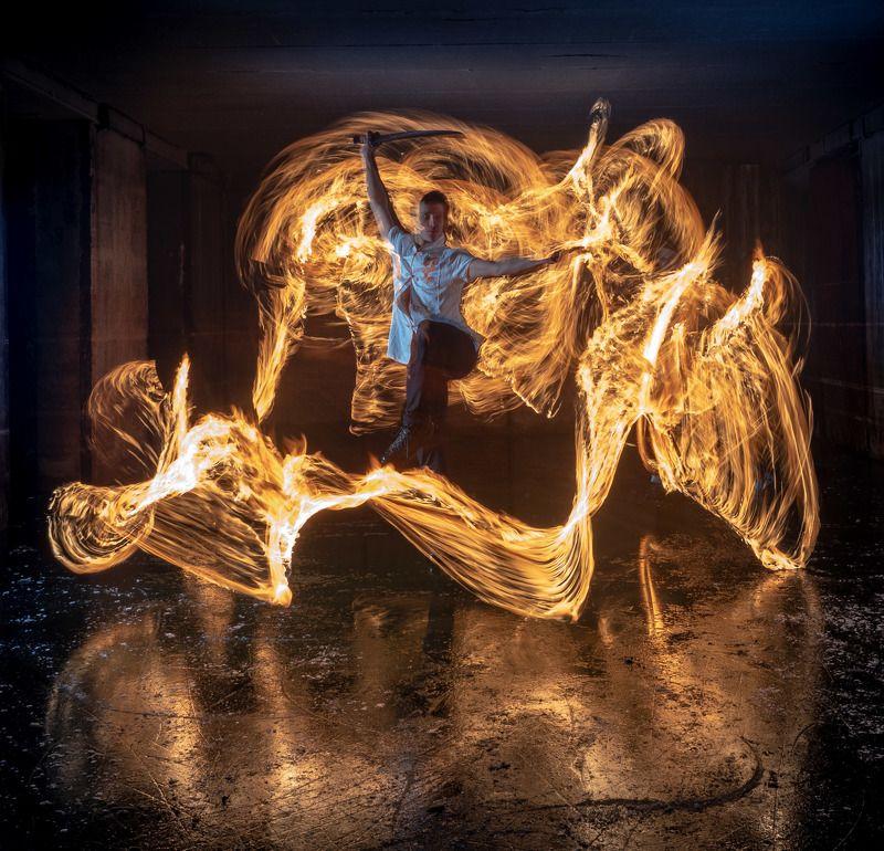 лед, пламя Танцы с огнемphoto preview
