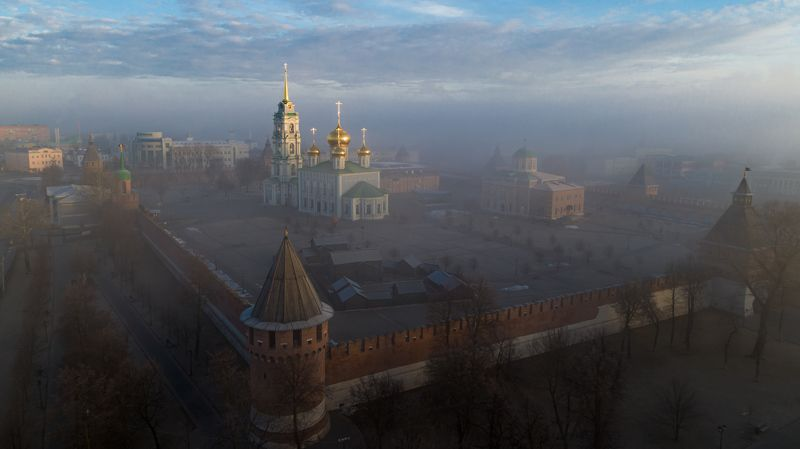 Тульский кремль в туманеphoto preview