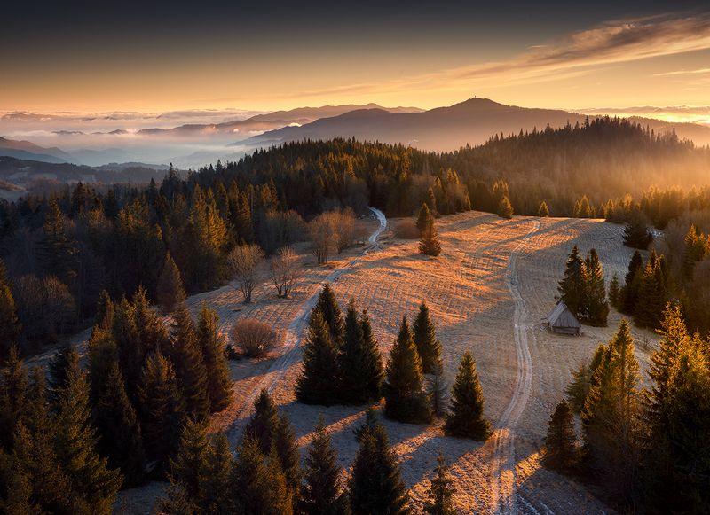 Sunrise in Gorcephoto preview