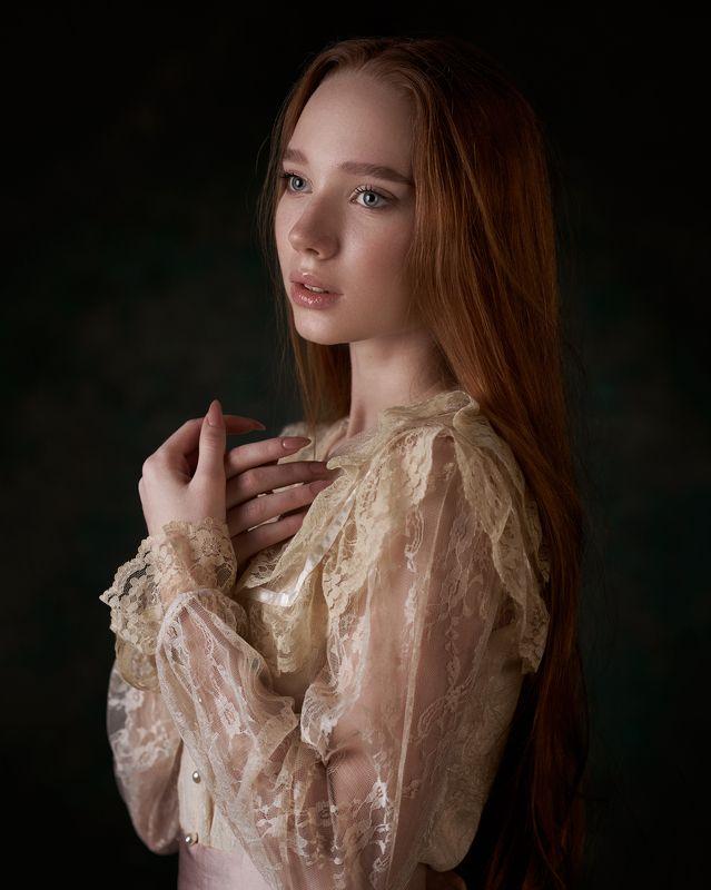 pyzhikphoto, портрет, классика, классический портрет, портрет девушки, женский портрет, portrait, classic, art, красавица Портрет Полиныphoto preview