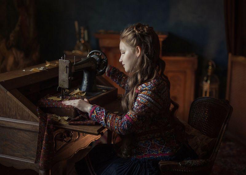 портрет детский портрет 50mm дети постановка октябрьphoto preview