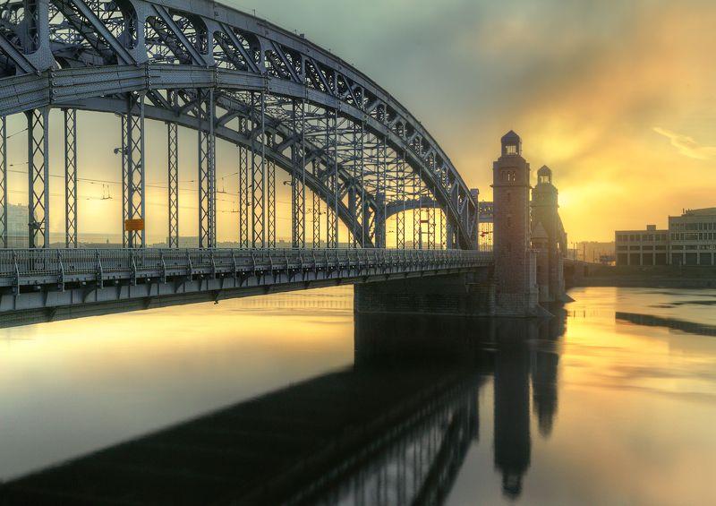 Большеохтинский мост...photo preview