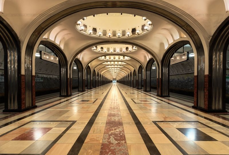 москва, артем мирный, moscow, artyom mirniy, art, hdr, cityscape, ceiling, ceiling-art, interior, mayakovskaya, маяковская, станция, метро Станция \