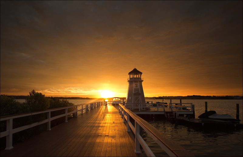миламиронова, восход, атлантика, залив, маяк, пристань, утро, солнце, свет, лучи, небо Восход...photo preview