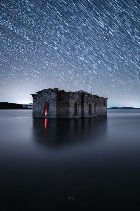 The submerged church Saint Ivan Rilskiphoto preview