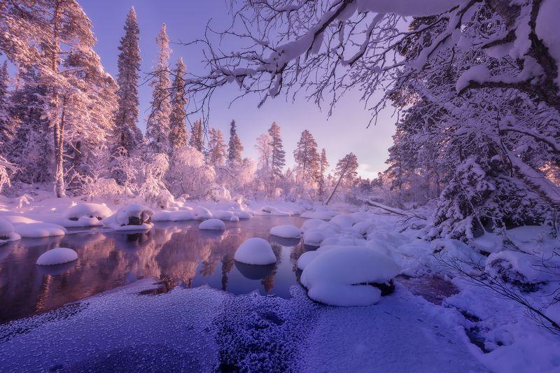 кольский полуостров,кольский,зима,winter,snow,kola peninsula Winter on the Kola Peninsulaphoto preview
