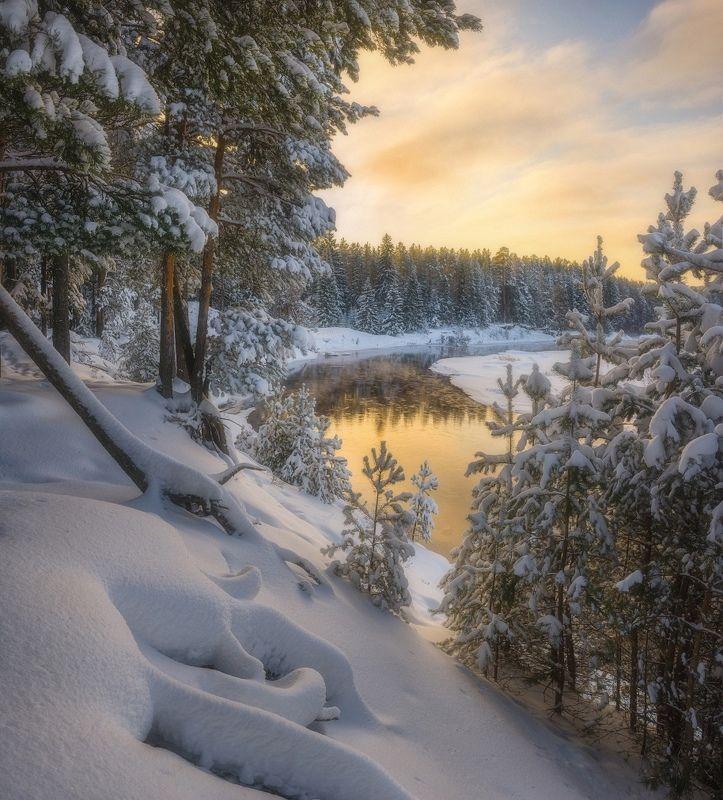 На берегу после снегопада IIphoto preview