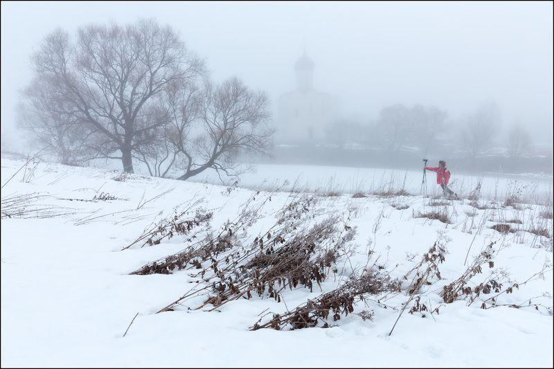 россия, владимирская обл, боголюбово Про красную куртку фотографаphoto preview