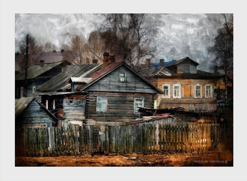 город, дмитрук весна в деревне. апрельphoto preview