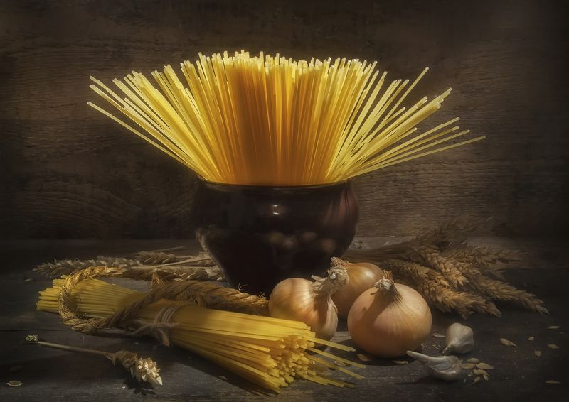 злаки,масло,золотое,горшочек,лук,сушки,макароны Золото злаковphoto preview