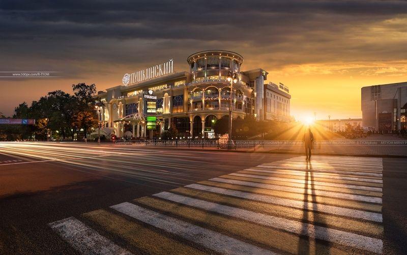 россия, курск, артем мирный, russia, kursk, artyom mirniy, длинная выдержка, long exposure, sunset, lonely, photoartist, фотохудожник Город Курск (Россия)photo preview