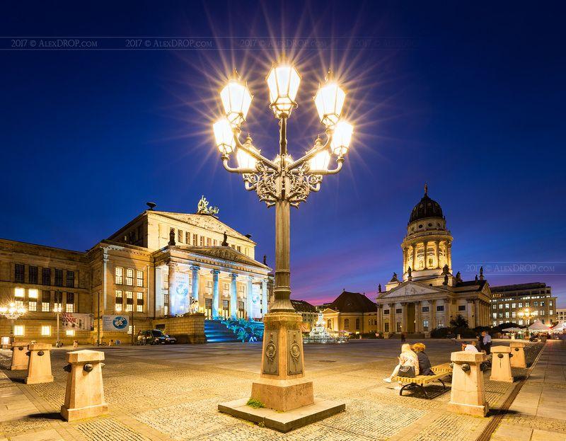 canon, europe, berlin, germany, architecture, iconic, landmark, travel, postcard, starburst Жандарменмаркт, Берлин / Gendarmenmarkt, Berlinphoto preview