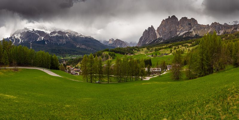 италия, доломиты, горы, облака, природа, landscape, italy, dolomites, cortina Cortina d`Ampezzo.photo preview