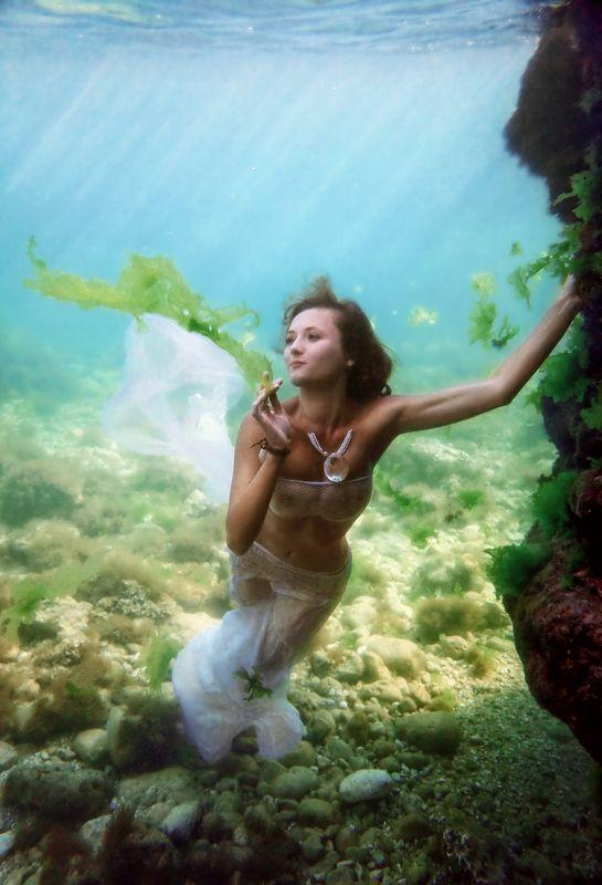 под водой, крым, черное море, девушки, ню Игры русалокphoto preview