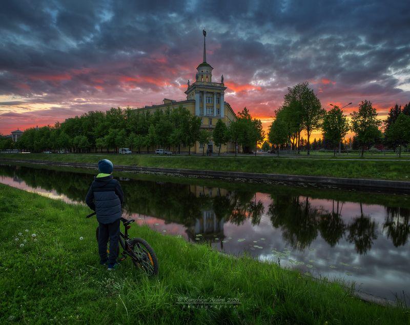 Колпино. Комсомольский канал...photo preview
