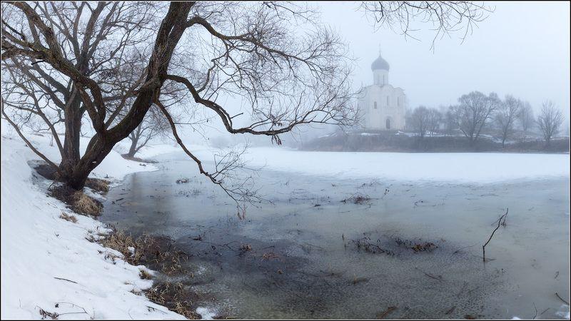 россия, владимирская обл, боголюбово Апрельские морозыphoto preview