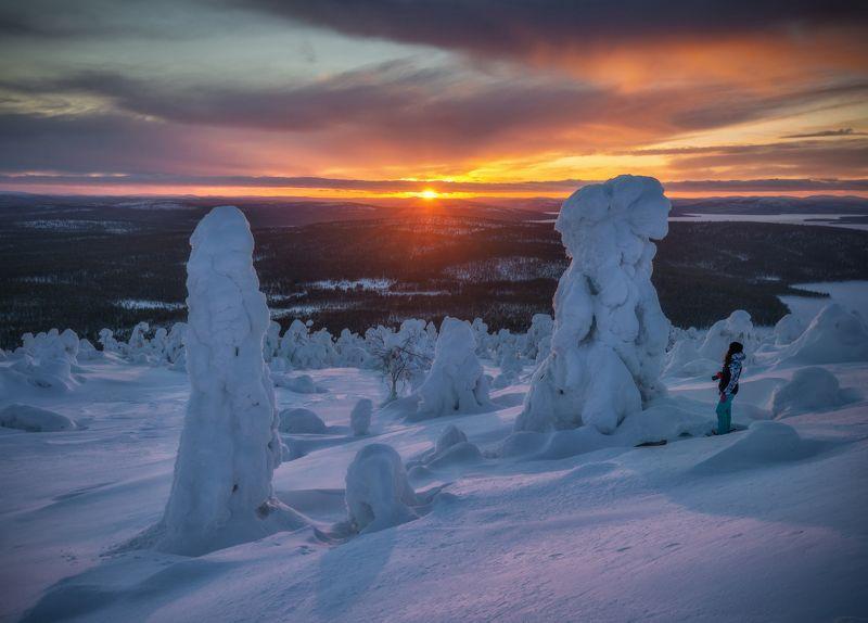 кольский Зима за полярным кругом.photo preview