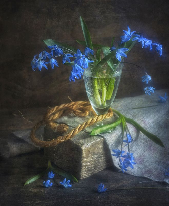 пролеска,цветок,доска,деревянный,стакан,текстура Пролески !photo preview