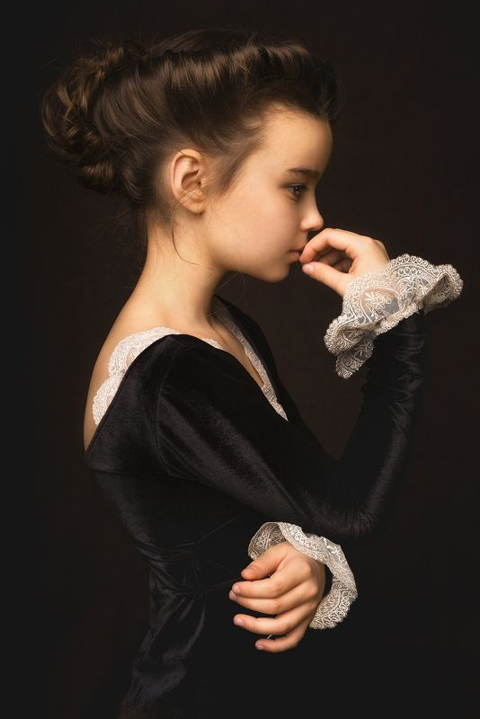 особые дети, красота, портрет Майяphoto preview