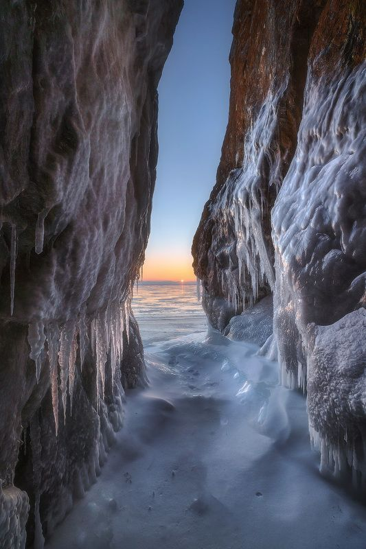 байкал, узуры Байкальский рассветphoto preview