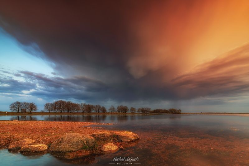 #poland #podlasie #water #sky #storm #clouds #magic #benro #benq #pentax Storm...photo preview