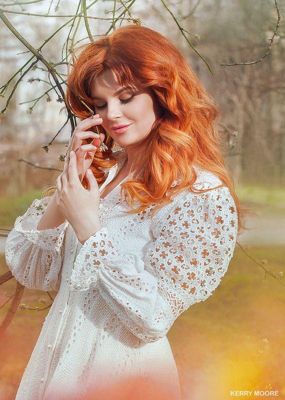 portrait, girl, портрет,style,light,портрет,рыжая,девушка,весна,природа, Miraphoto preview