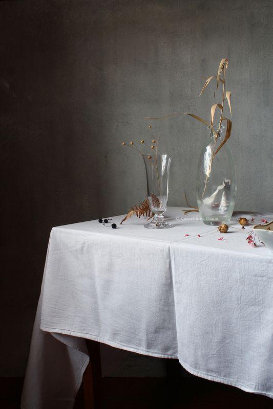 натюрморт, белый, сухостой **photo preview