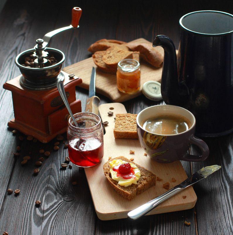 натюрморт, фотонатюрморт, утро, завтрак, еда, наталья казанцева В утренней суматохеphoto preview