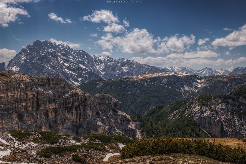 panorama, dolomiti, dolomites, photography, mood, blue, silence, rocks, peaks, cluouds, glacier, alps, nature, beautiful, stunning, landscape, photo preview