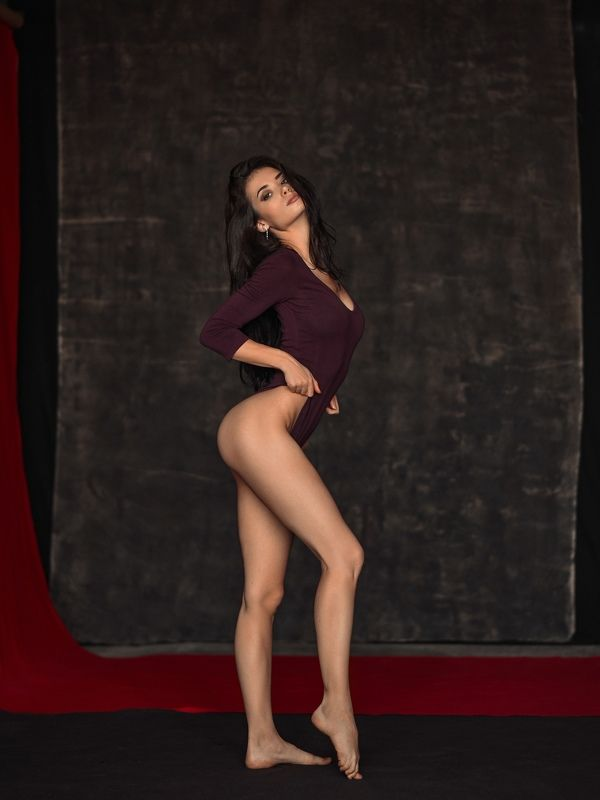 girl sexy nude dmitrymedved black white  lingerie Nadia lingeriaphoto preview