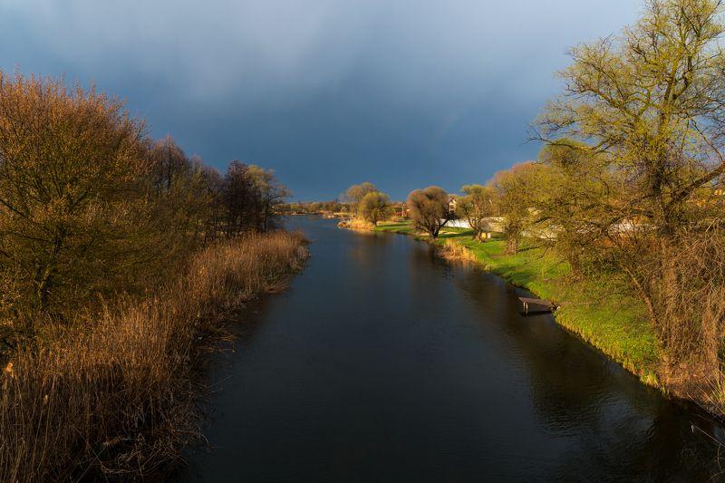 река нежеголь, шебекино, весна После дождика в четверг...photo preview