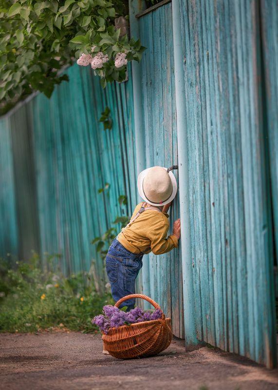 весенние истории,детство, наш двор,сирень,ирина горюкина Слышите?Счастье пришло!)photo preview