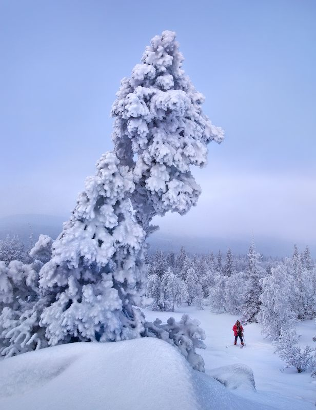 урал, зима, гух На Главном Уральском...photo preview