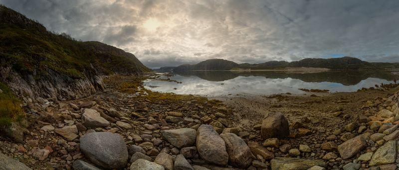 заполярье, кольский, териберка, баренцево море В русле осенней Териберкиphoto preview