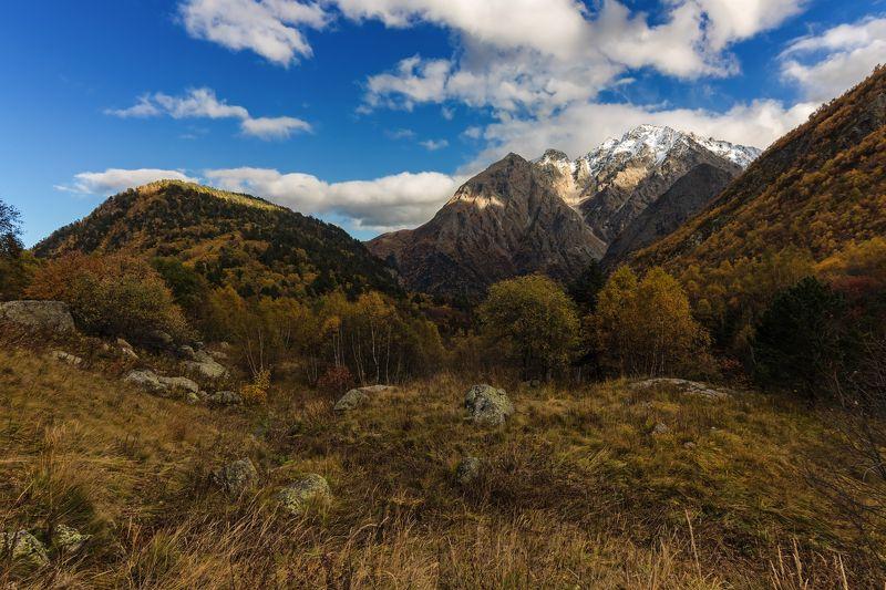 горы,восхождение,кавказ,облака warm autumn...photo preview