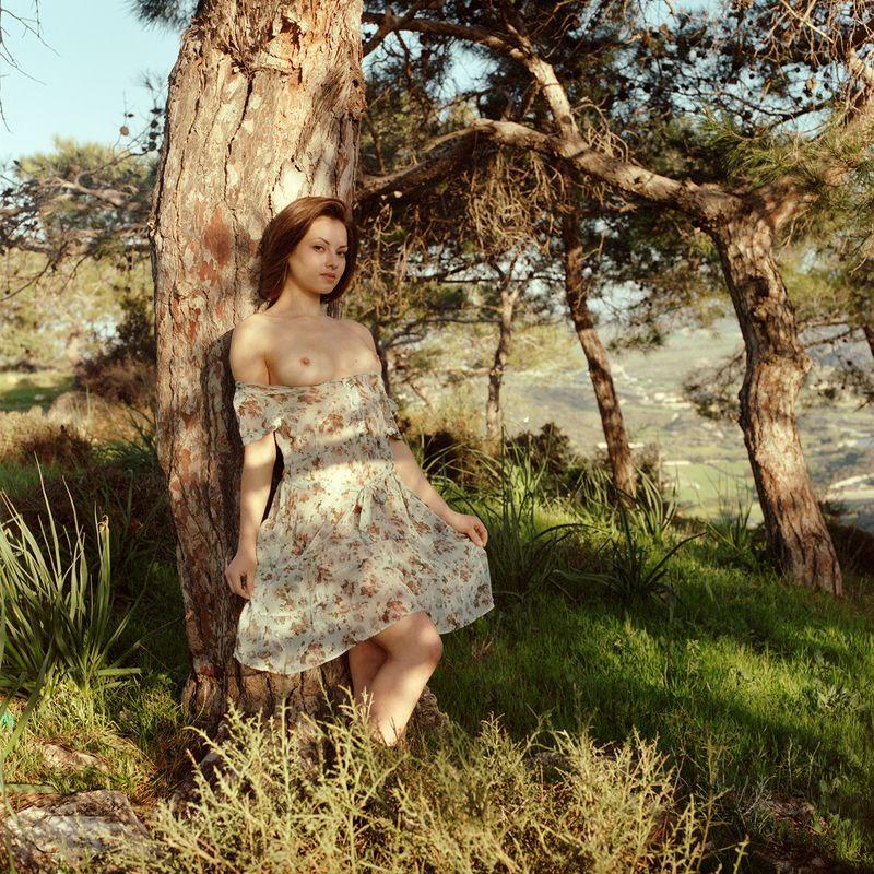 6x6, 6x6 film, nude, nuart, ню. эротика, портрет Romantic forestphoto preview