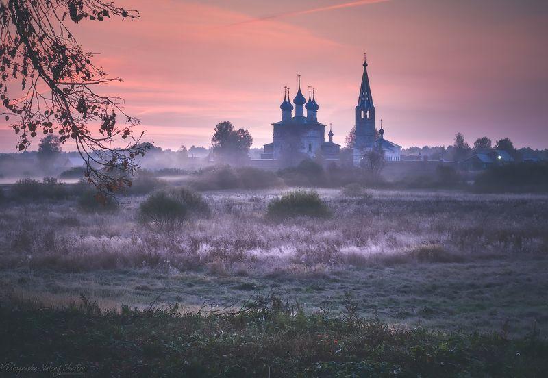 Перед рассветом. Дунилово. Ивановская область.photo preview