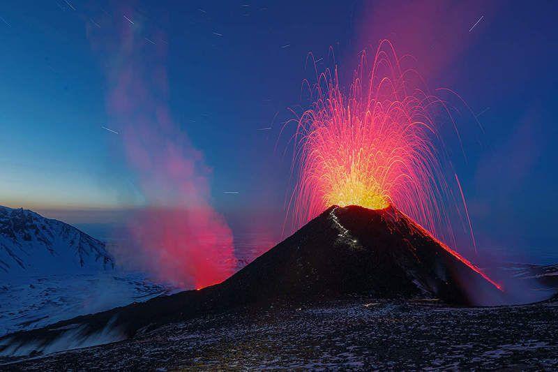 камчатка, вулкан, извержение, пейзаж 7 минутphoto preview