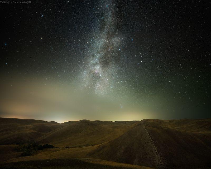 долгие горы, фототур, яковлевфототур, василийяковлев Звездная ночь в Долгих горахphoto preview