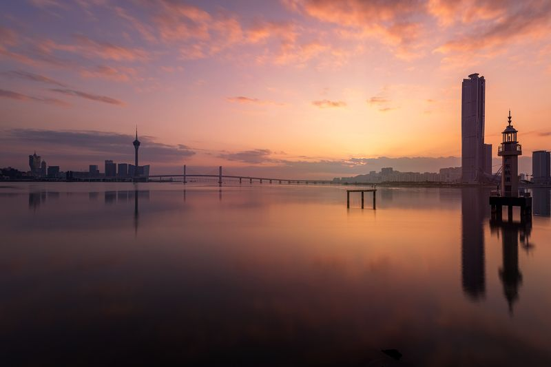 cityscape, macao, macau, morning, architect, architecture, The morning lightphoto preview