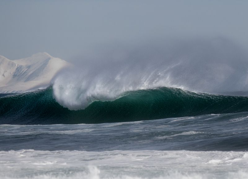 волна, волны, шторм, океан, море, камчатка, накат, прибой, вода Волныphoto preview