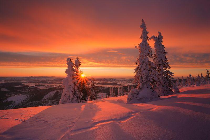 landscape,winter,canon,mountains The Garden Of The Sun фото превью