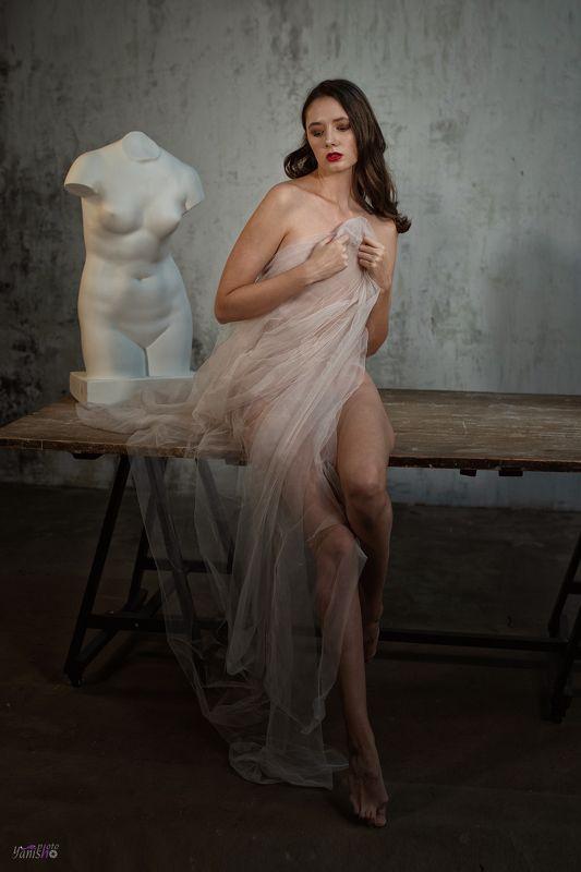 девушка, портрет, ню, красота, студия, античность photo preview