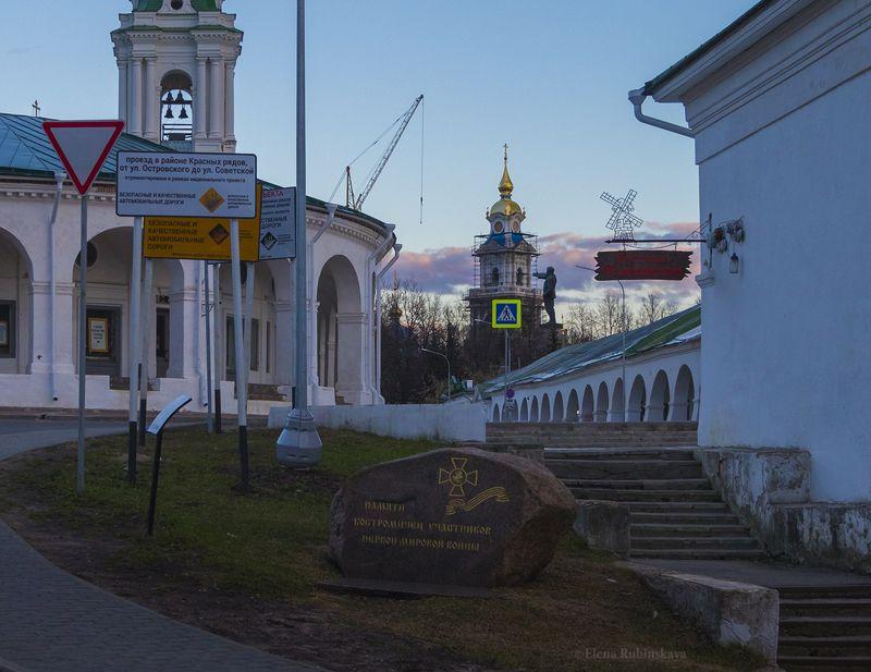 кострома,город,архитектура,памятник,церковь Замечательная какофонияphoto preview