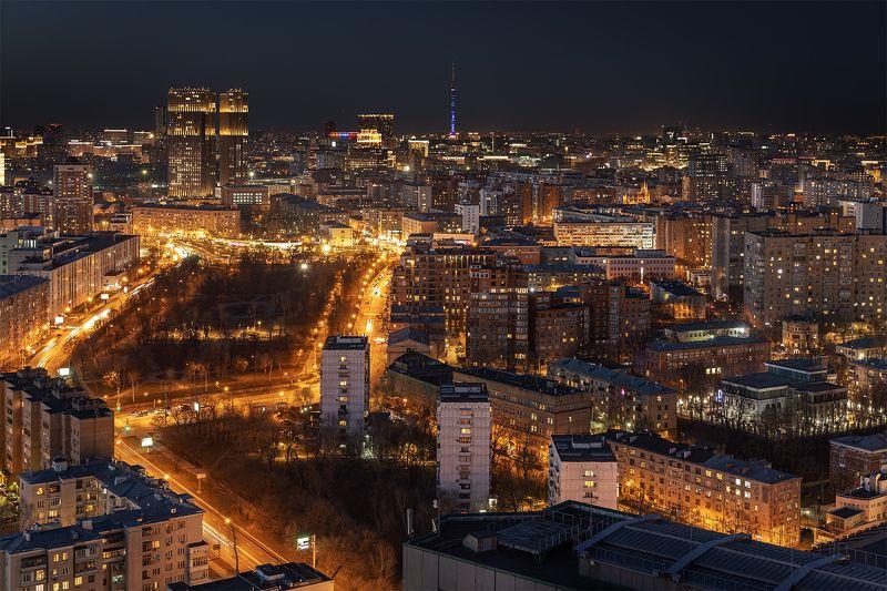 Вечерняя Москва. Апрель. photo preview